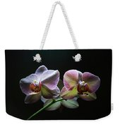 Highlighted Orchids Weekender Tote Bag