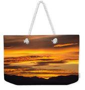 Highway 2 Sunrise Weekender Tote Bag