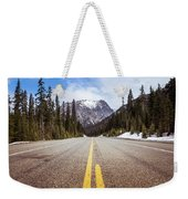Highway 20 On Rainy Pass In North Cascades National Park Weekender Tote Bag