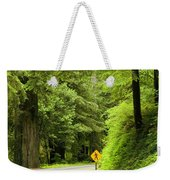 Highway Curve Weekender Tote Bag