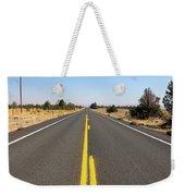 Highway In Central Oregon Weekender Tote Bag