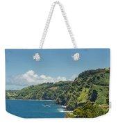 Highway To Heaven Hana Highway Maui Hawaii Weekender Tote Bag