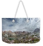 Hiker At Twin Lakes - Chicago Basin - Weminuche Wilderness - Colorado Weekender Tote Bag