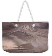 Hiker - Great Sand Dunes - Colorado Weekender Tote Bag