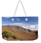 Hikers Inside Haleakala  Weekender Tote Bag