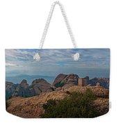 Hiking In Montserrat Spain Weekender Tote Bag