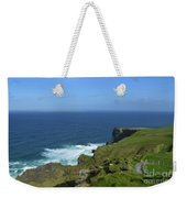 Hiking Path Along The Top Of The Cliff's Of Moher Weekender Tote Bag