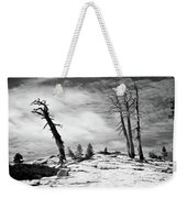 Hiking The Rim, Yosemite Weekender Tote Bag