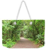 Hiking Trail Along Lewis And Clark River Weekender Tote Bag