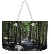 Hiking Trail At Brandywine Falls Provincial Park Weekender Tote Bag