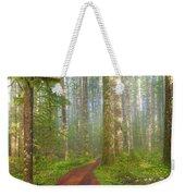 Hiking Trail In Washington State Park Weekender Tote Bag