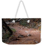 Hiking Trail To Abrams Falls Weekender Tote Bag by DigiArt Diaries by Vicky B Fuller