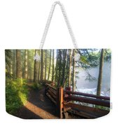 Hiking Trails At Lower Lewis River Trail Weekender Tote Bag