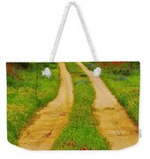 Hill Country Backroad Weekender Tote Bag