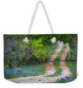 Hill Country Road Weekender Tote Bag