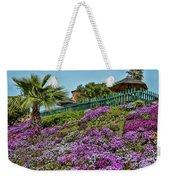 Hill Of Flowers Weekender Tote Bag