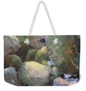 Hill Side Spring Weekender Tote Bag