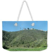 Hill With A House Weekender Tote Bag