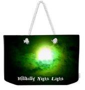 Hillbilly Night Light Weekender Tote Bag