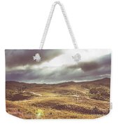 Hills And Outback Tracks Weekender Tote Bag