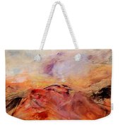 Hills In The Autumn Weekender Tote Bag