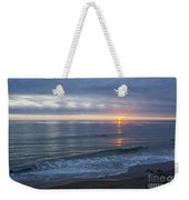 Hills Of Clouds With Ocean Sunset Weekender Tote Bag