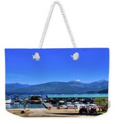 Hill's Resort On Priest Lake Weekender Tote Bag