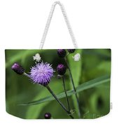 Hill's Thistle Flower And Buds Weekender Tote Bag