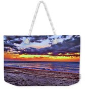 Hillsboro Beach Orange Sunset Hdr Weekender Tote Bag