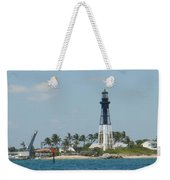 Hillsborough Light Weekender Tote Bag