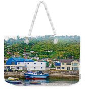 Hillside Along Harbor Near Angelo Fish Market In Puerto Montt-chile  Weekender Tote Bag
