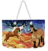 Hillside Horses Weekender Tote Bag