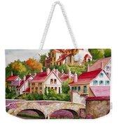 Hillside Village Weekender Tote Bag