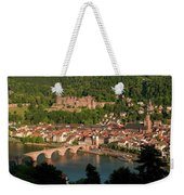 Hilltop View - Heidelberg Castle Weekender Tote Bag