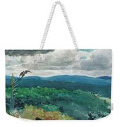 Hilly Landscape Weekender Tote Bag
