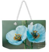 Himalayan Blue Poppy Weekender Tote Bag