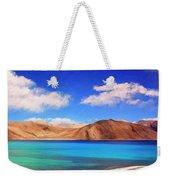 Himalayan Lake Weekender Tote Bag