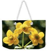 Himalayan Marsh Marigold Weekender Tote Bag