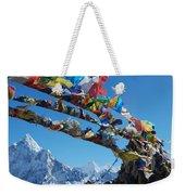 Himalayas In Nepal Weekender Tote Bag