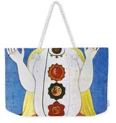 Hindu Chakras Wheels Weekender Tote Bag