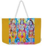 Hindu Trinity Brahma Vishnu Shiva Weekender Tote Bag