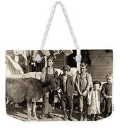 Hine: Child Labor, 1908 Weekender Tote Bag