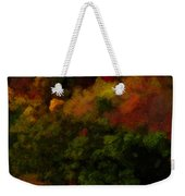 Hint Of Fall Color Painting Weekender Tote Bag