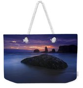 Hint Of Light Weekender Tote Bag
