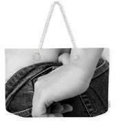 Hip Check Weekender Tote Bag