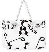 Hip Hop Weekender Tote Bag