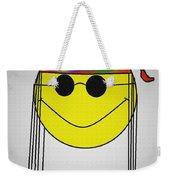 Hippie Face Weekender Tote Bag