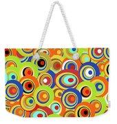 Hippie Weekender Tote Bag