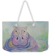 Hippo  Weekender Tote Bag