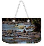 Hippo Raft Weekender Tote Bag